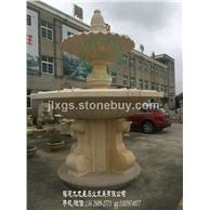 石雕水钵现货 房地产石雕水钵 庭院石材水钵