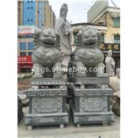 石雕北京狮现货 惠安青石狮子 石狮子商家