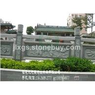 青石浮雕栏杆 福建石栏杆厂家 惠安石雕加工厂