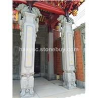古建筑石柱,浮雕,雕刻,雕像,柱子