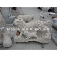 动物雕刻,雕像,石雕,人物雕刻