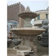 石雕喷泉制作 石雕喷泉厂家 石材水钵加工