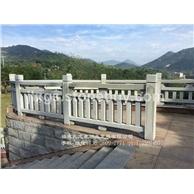 河道石雕防护栏 湖边石栏杆 公园石雕栏杆