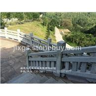 河道石栏杆 白麻石雕护栏 石栏板定制