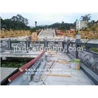 水利工程石栏杆 河道石雕栏杆 石栏杆批发厂家