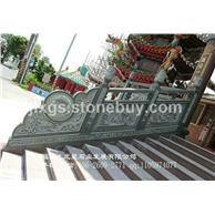 寺庙石栏杆 桥梁石雕护栏 花岗岩石材栏杆