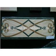 水刀马赛克, 水刀拼花,数控雕刻,线条,复合板