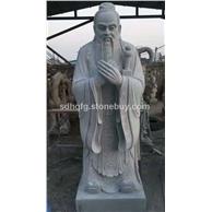 古今中外人物石雕