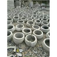 厂家订购青石鼓形柱础石刻空心柱顶石柱墩柱基石仿古整体柱基石