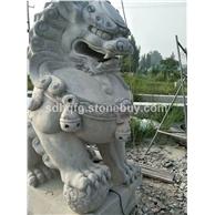 石雕狮子石狮子镇宅辟邪门口青石仿古北京狮子南方狮子跑狮走狮雄狮