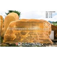 云南 英德石园直批风景黄蜡石 观景黄蜡石 园林设计师专用石 风水石