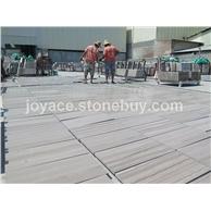 嘉岩石材供应大量雅典木纹工程板