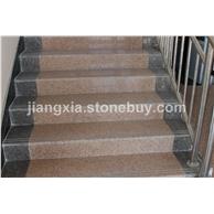 双井红楼梯踏步石