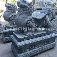 石雕麒麟貔貅 石雕狮子 石雕大象 石雕动物雕刻