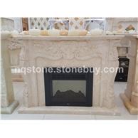 F-047美尼斯金大理石壁炉架Fireplace Mantel