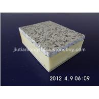 24-山东白麻(火烧面)花岗岩节能保温一体化复合板PU:防火B1级