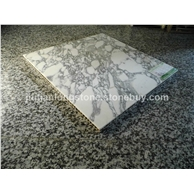山水大花白铝蜂窝复合板