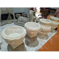 埃及米黄花钵