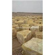 黄色石灰石荒料