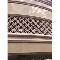 镂空雕刻圆柱弧形板
