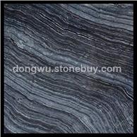 古木纹大理石 黑色天然大理石 批发大板 荒料 线条 台面