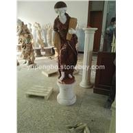西方人物雕刻.拼接色石雕.汉白玉石雕.石雕动物.石雕栏杆