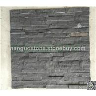 黑板岩平板文化石 背景墙装修石