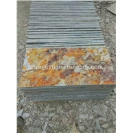 供应出口韩国地区锈板岩天然青石板
