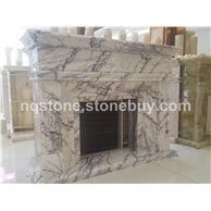 香雪梅大理石雕刻壁炉架