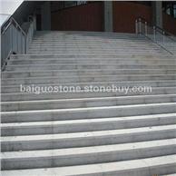麻城芝麻白-加工面板异型干挂板-楼梯板