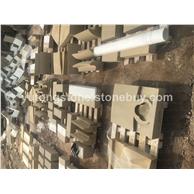 米黄砂岩异形雕刻