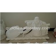 汉白玉 人物雕塑石雕