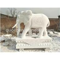 汉白玉 石象石雕