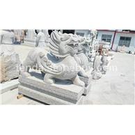 青石石狮雕刻