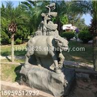 12生肖石雕牛