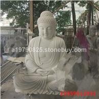 汉白玉大理石释迦摩尼佛像