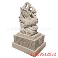 鳳凰雕塑石雕,石雕動物