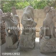 石雕12生肖