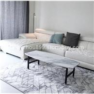 厂家直销 大理石桌 白色方形天然大理石 价格合理 供货量充足