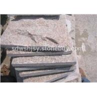 蘑菇石黄锈石黄金麻白锈石芝麻灰芝麻黑路沿石