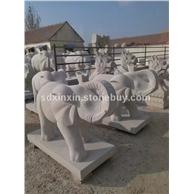 花岗岩石材雕刻 象雕