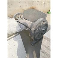 花岗岩石材雕刻   长椅