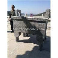 花岗岩石材雕刻  石鼎
