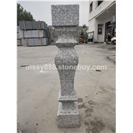 大鸿石业小铁灰石材/珍珠灰石材异形加工