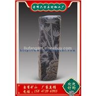 六方石-玄武岩-蒙古黑-雕刻