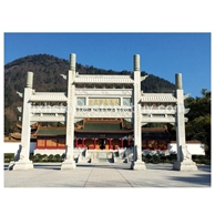 寺院庙宇石雕牌楼