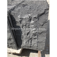 中国黑漳浦黑安山岩玄武岩蘑菇石