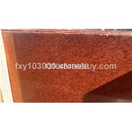 中国红石材 染红板 四川红石材