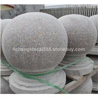 異形石材定制加工花崗巖擋車球 花瓶柱欄桿 s型路沿石
