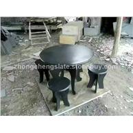 青石石桌石凳
